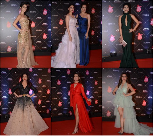 Best Dressed at Nykaa Femina Beauty Awards 2018