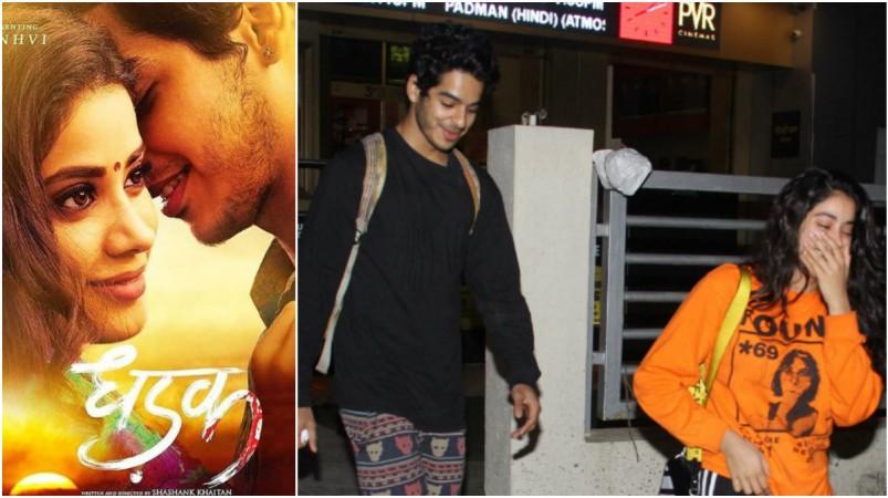 Dhadak Co Stars Janhvi Kapoor Ishaan Khattar Cant Stop Blushing In