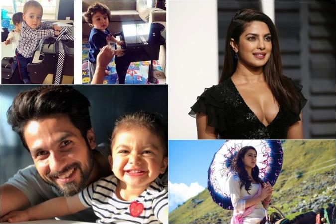 Shahid Kapoor, Priyanka Chopra, Taimur Ali Khan, Yash Johar, Sara Ali Khan