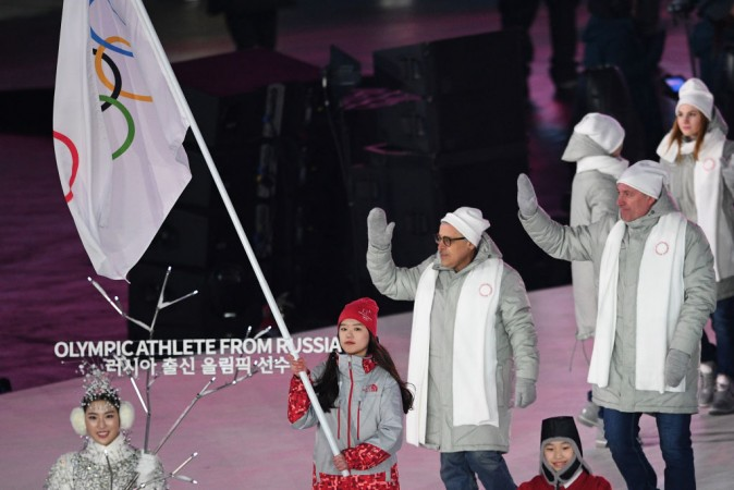 Russia at 2018 Winter Olympics