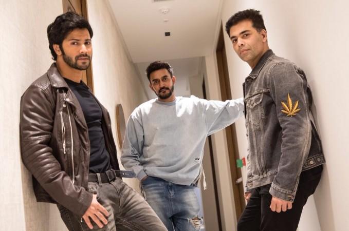 Varun Dhawan, Shashank Khaitan, Karan Johar reunite for Rannbhoomi