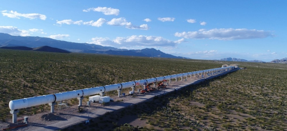 Hyperloop Transportation System developed by Hyperloop One