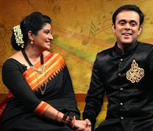 Sumeet Ragahvan and wife Chinmayee Surve