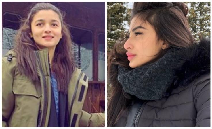 Alia Bhatt and Mouni Roy