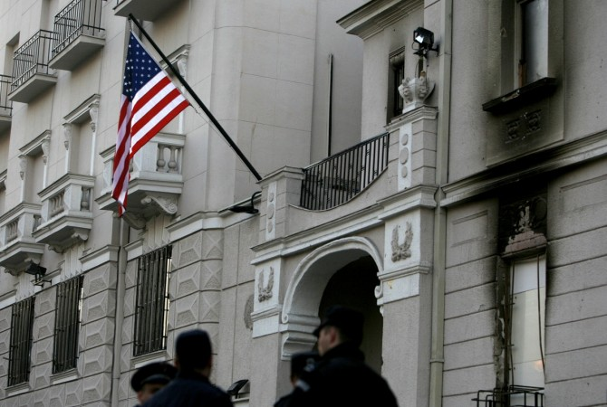 US embassy attacked in Montenegro