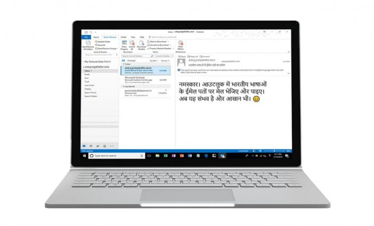 Microsoft supports 15 Indian languages for email addresses