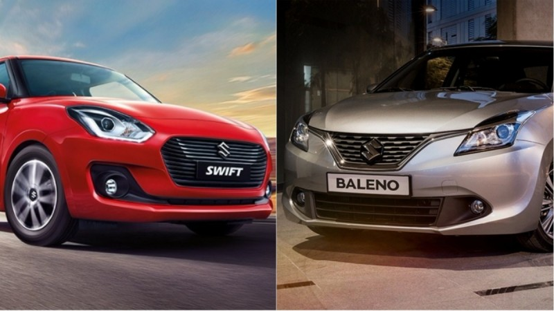 2018 Maruti Suzuki Swift Vs Baleno