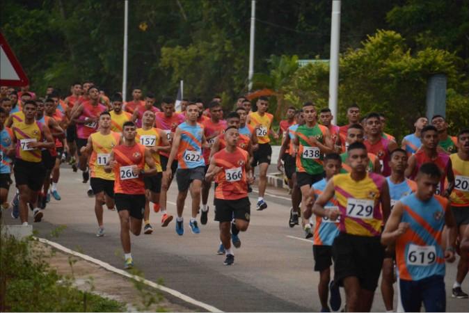 Cross-country race