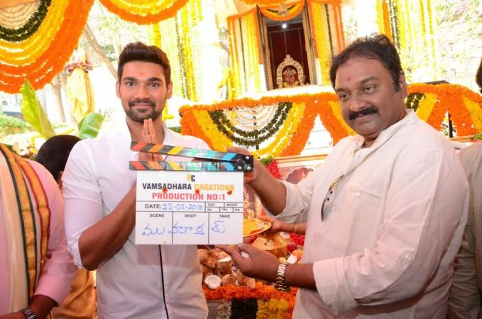 Bellamkonda Sai Srinivas' fifth movie launch