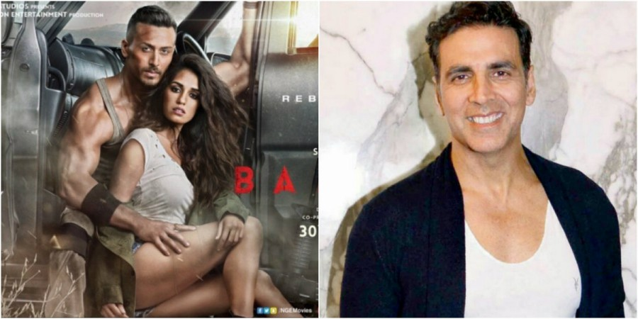 Akshay Kumar tweets about Baaghi 2 trailer