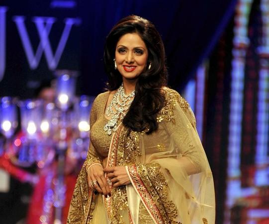 Bollywood actress Sridevi