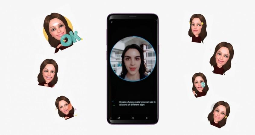 Samsung Galaxy S9, AR emoji, intelligent scan, facial recognition, Galaxy S9 Plus,