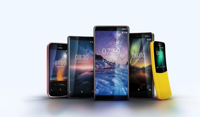 Nokia 6, Nokia 7 Plus, Nokia 8 Sirocco edition, Nokia 1, Android Go, Android One, Nokia 8810