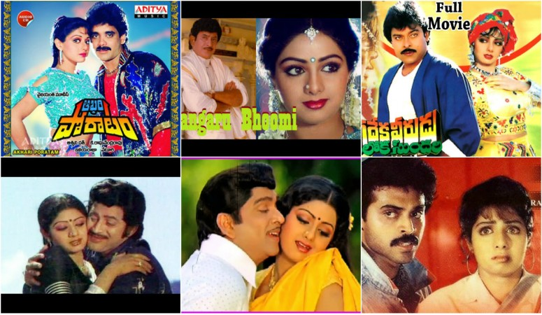 Tributes to Sridevi: Hit Telugu songs featuring her with Chiranjeevi