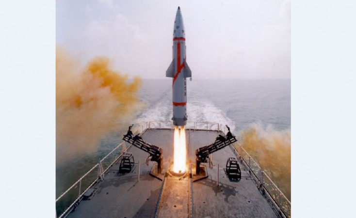 Dhanush, missile, DRDO, successful launch, Indian Navy, Prithvi variant