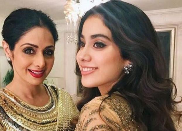 Sridevi with daughter Janhvi Kapoor