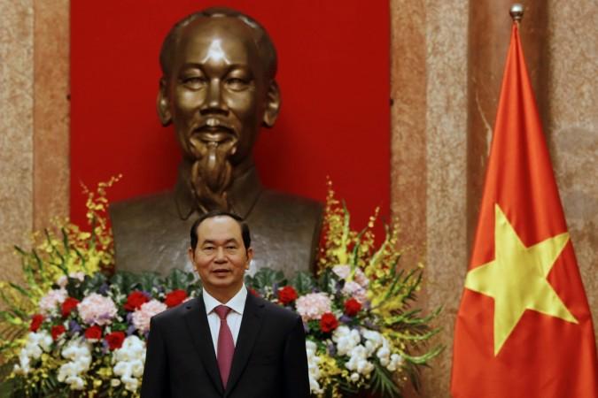 Vietnam's President Tran Dai Quang in India