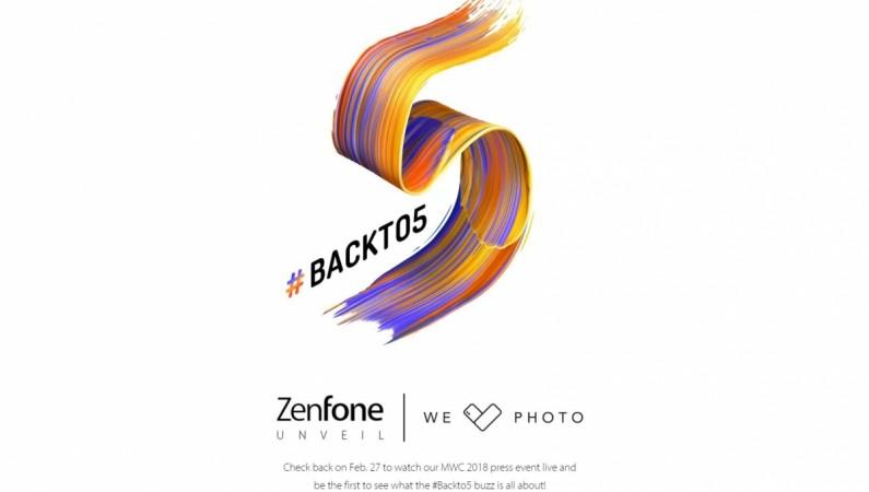 Asus Zenfone 5, Live Stream, MWC 2018, Mobile World Congress