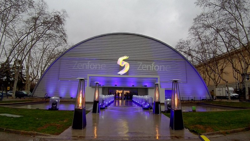 Asus Zenfone 5 launch venue at MWC 2018 in Barcelona, Spain