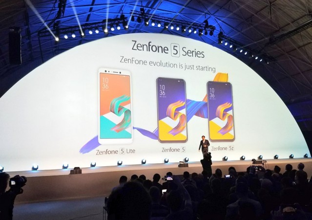 Asus Zenfone 5 series launched at MWC 2018