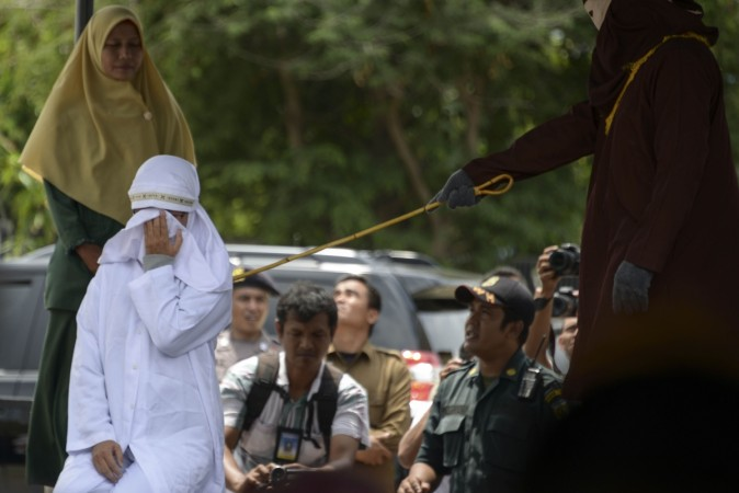 Christians flogged in Indonesia