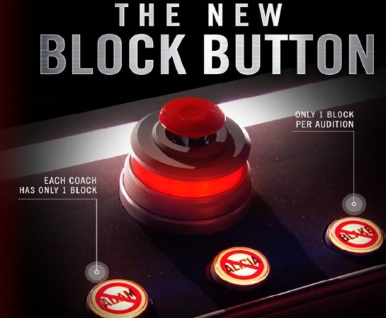 Block button on The Voice