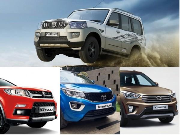 Mahindra SUV vs rivals