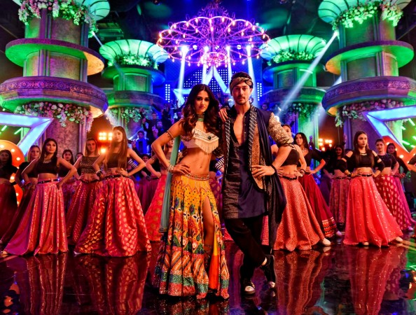Tiger Shroff and Disha Patani in Mundiyan song from Baaghi 2