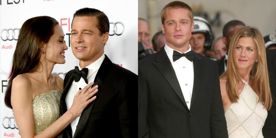 Angelina Jolie Brad Pitt Jennifer Aniston