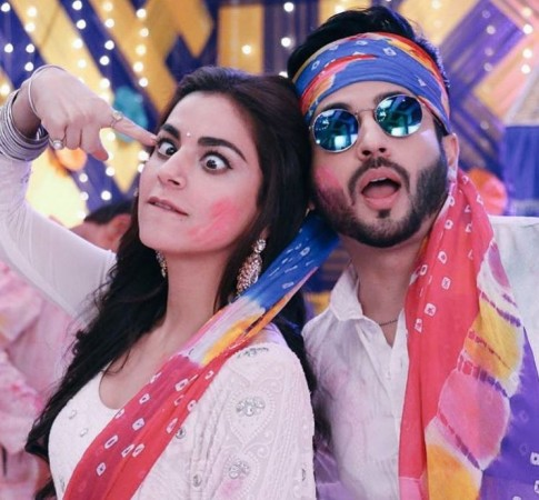 Zee TV Holi special episode with Kundali Bhagya and Kumkum Bhagya cast