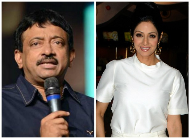 Ram Gopal Varma to make film on Sridevi.