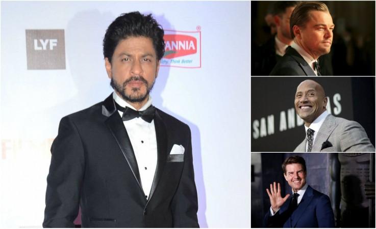 Shah Rukh Khan, Leonardo DiCaprio, Dwayne Johnson, Tom Cruise