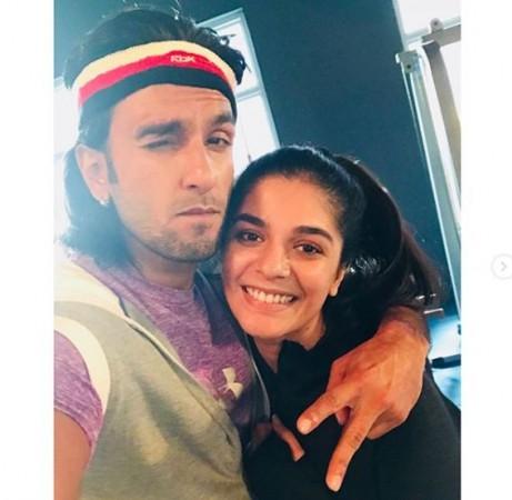 Pooja Gor in Ranveer Singh's Gully Boy?