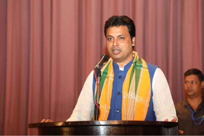 Aishwarya Rai an Indian beauty, not Diana Hayden: Tripura CM Biplab Deb