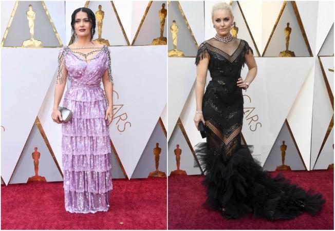 oscars 2018 worst dressed celebs salma hayek to nicole