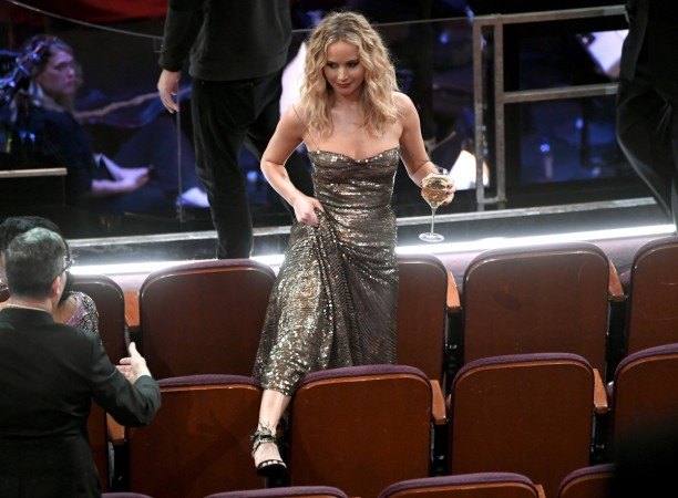 Jennifer Lawrence at Oscars 2018