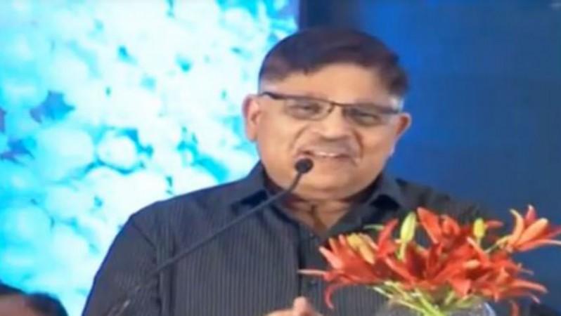Allu Aravind at the the condolence meeting of Sridevi