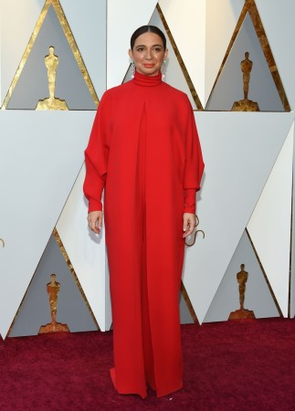 Maya Rudolph arrives for the 90th Annual Academy Awards on March 4, 2018, in Hollywood, California.