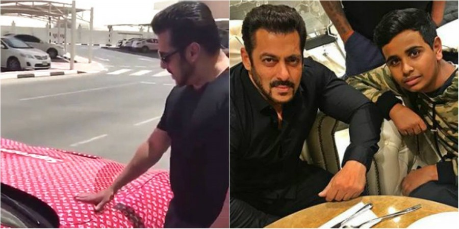 Richest Kid In Dubai >> Will Salman Khan drive Dubai's richest kid Rashed Saif ...