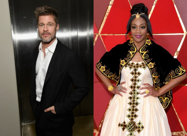 Brad Pitt and Tiffany Haddish