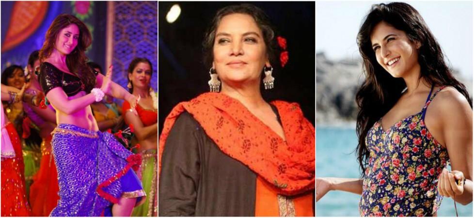 Kareena Kapoor Khan, Shabana Azmi, Katrina Kaif