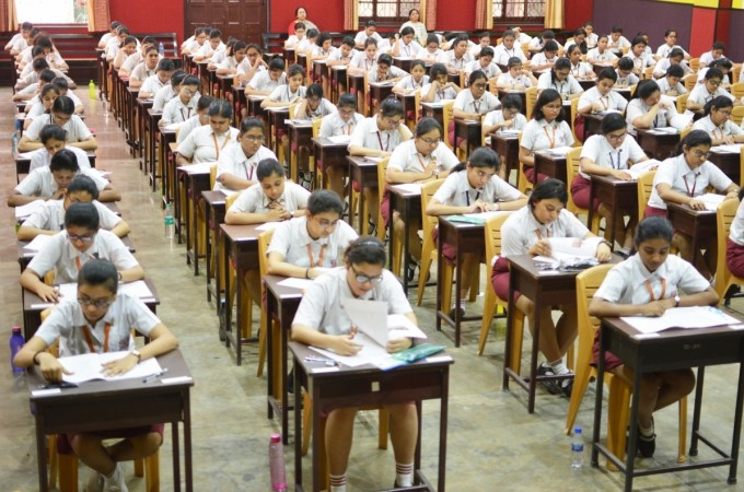 Students appear in ICSE class 10 exams in Kolkata on Feb 26, 2018 [Representational picture]