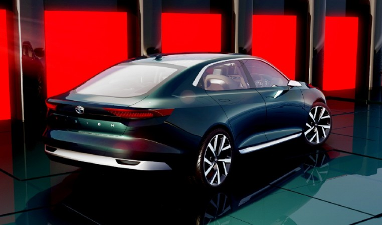 Tata Motors Reveals Sleek E Vision Electric Sedan Concept At 2018 Geneva Motor Show Ibtimes India