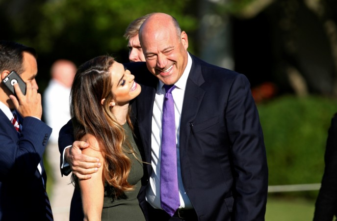 gary cohn hope hicks