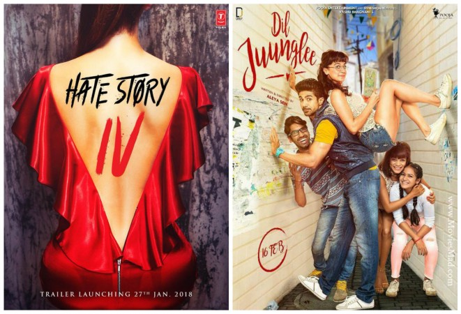 Hate Story 4 is likely to have better opening box office collection than Dil Juunglee