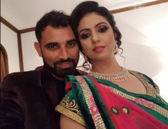 Mohammed Shami and Hasin Jahan