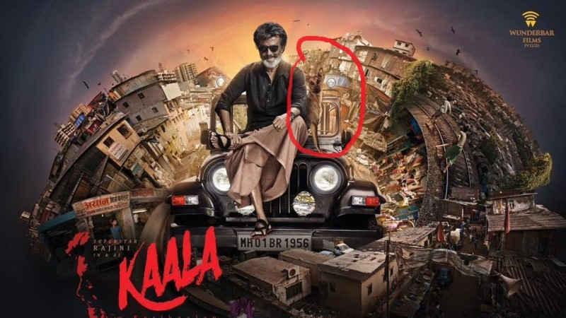 Mani is the name of the dog which worked in Rajinikanth's Kaala