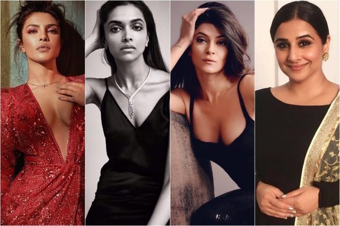 Priyanka Chopra, Deepika Padukone, Sushmita Sen, Vidya Balan