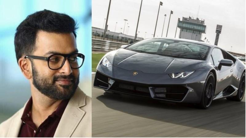 Prithviraj buys Lamborghini Huracan
