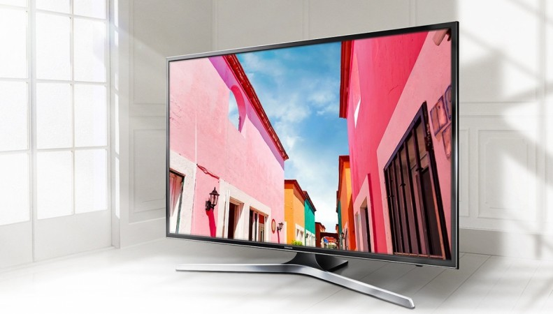 Samsung 55-inch 4K UHD Smart TV (UN55MU6300F) front view